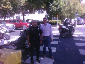Me with the Sacramento PD
